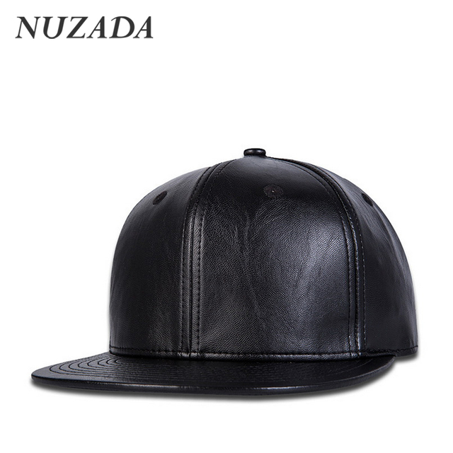 Brands NUZADA Men Women Baseball Caps Snapback Quality PU Leather Hip Hop Hats Bone Sports Autumn Winter styles Cap jt-136