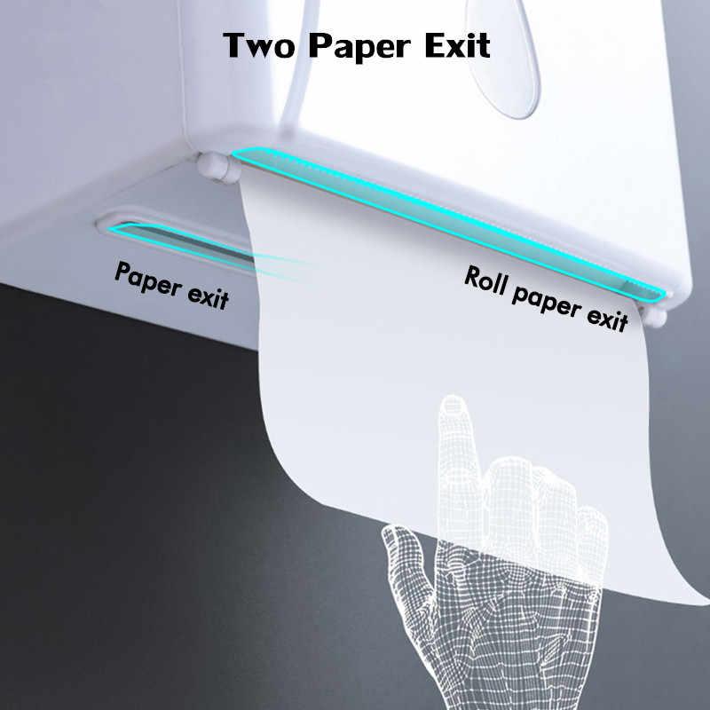الأنسجة مربع لكمة خالية الحائط المطبخ حامل مناديل ل المتعددة الوجوه ورقة المناشف الأنسجة صندوق تخزين الحمام المنظم