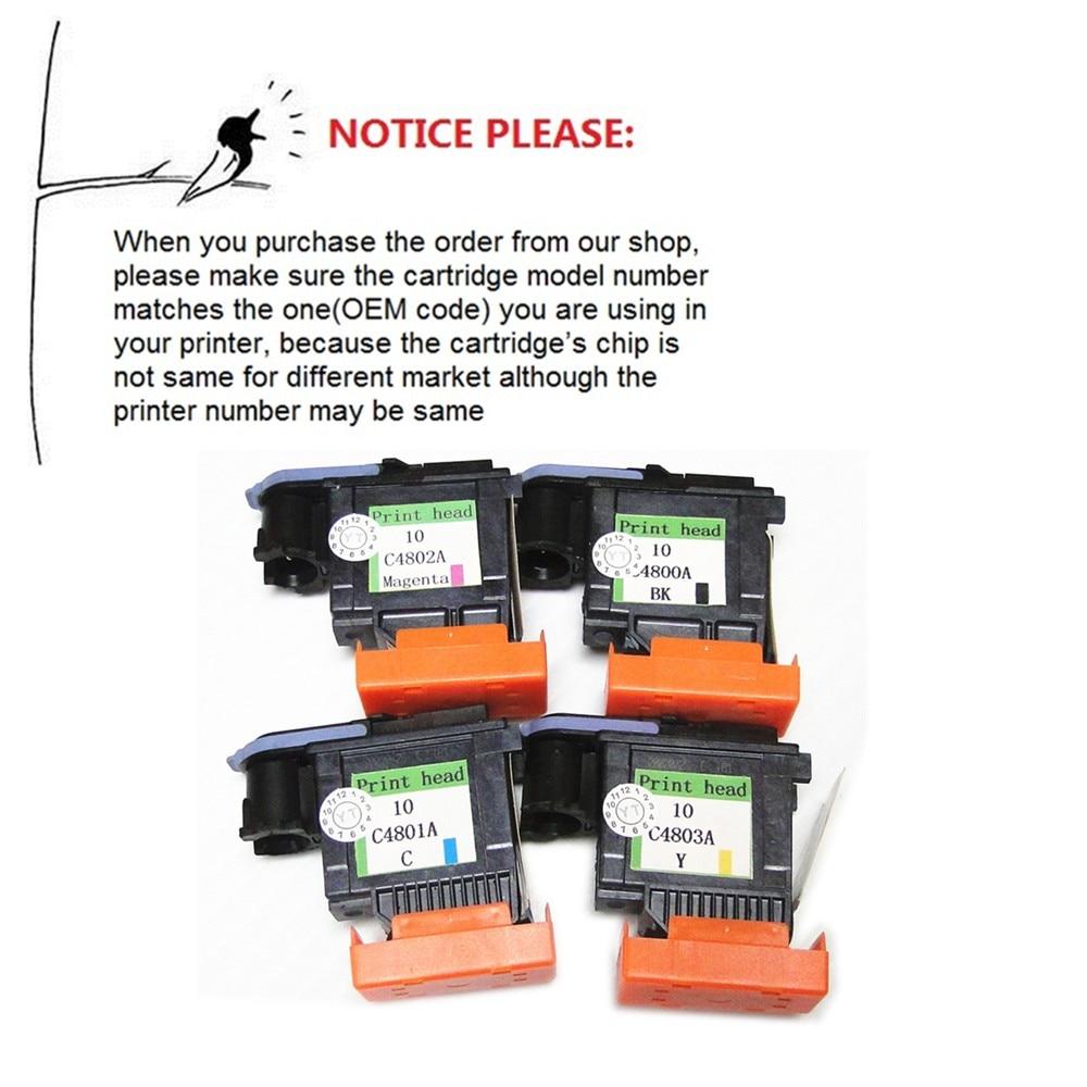 YOTAT Regenerowana 10 głowica drukująca C4800A C4801A C4802A C4803A - Elektronika biurowa - Zdjęcie 2