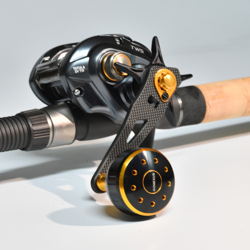 Abu Garcia Daiwa Green Carbon Fishing Reel Power Handle 8x5mm AHERNTACKLE