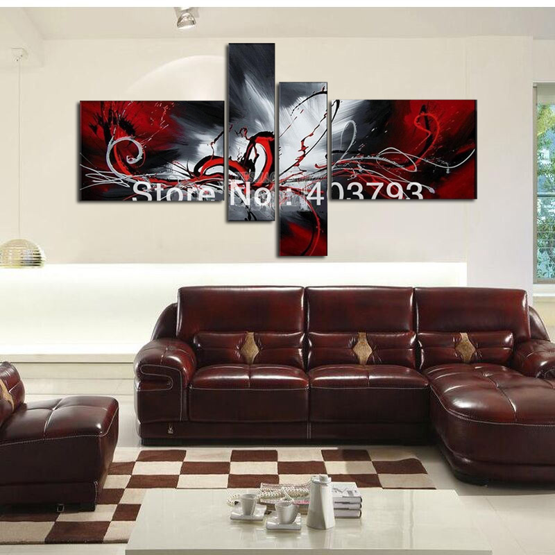 Modern abstract Oil Painting On Canvas huge wall art abstract blutterfly Free shipping home decoration in Painting Calligraphy from Home Garden