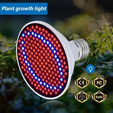 E27 LED Plant Lamp Full Spectrum Led Grow Light Bulb 6W 15W 20W Indoor Phyto Lamp AC85-265V Flower Seedling Led Fitolamp SMD2835 hot sale 15w gu5 3 gu10 full spectrum led grow light spotlight ac85 265v lamp bulb flower plant greenhouse hydroponics system