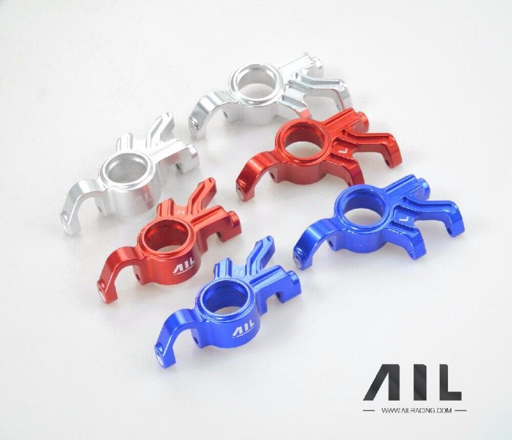 ALLRC 6061 t6 CNC In lega di Alluminio Opzionale aggiornamento Del Metallo tazza di Sterzo componenti per trax X xmaxx parti di automobili del rc