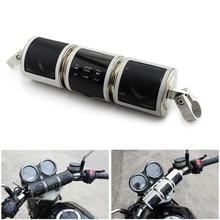 Мотоцикл динамик Bluetooth V2.1+ EDR аудио водостойкий мотоцикл стерео динамик мото fm-радио AUX USB TF MP3 плеер