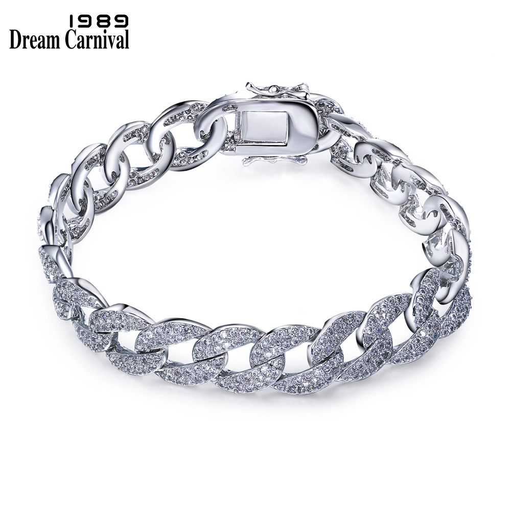 Dreamcarnival 1989 Fashion Big bracelet for woman white Cubic zirconia Hot style Unique Jewelry bracelets SB05325R бомбер printio pixel pink