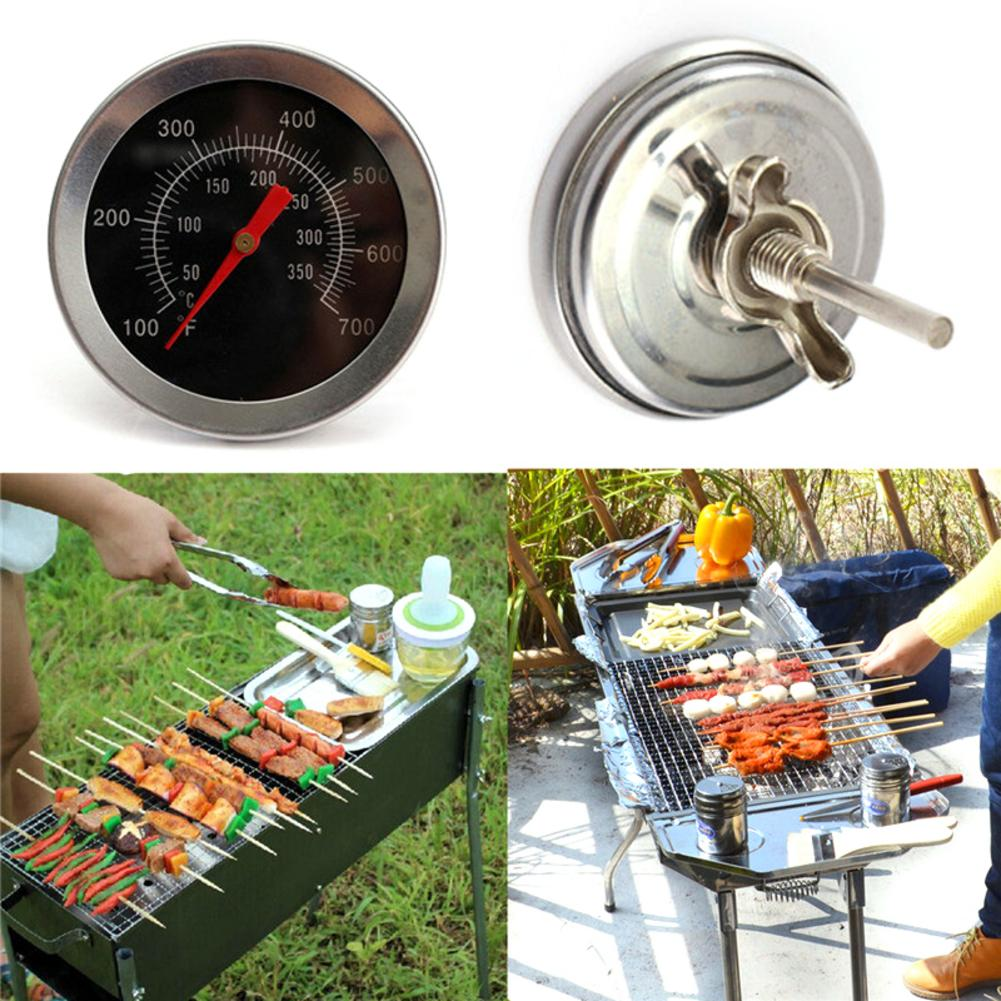 100 350 Celsius Stainless Steel Thermometer For Barbecue Grill And Baking Oven Outdoor Barbecue Thermometer Kitchen Tools in Temperature Gauges from Home Garden