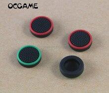 OCGAME 500 unids/lote, mando analógico de silicona luminoso multicolor, tapa de Joystick para Switch Joy Con Thumb Stick Grips