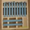Прецизионный токарный инструмент из твердого сплава наборы инструментов Режущий инструмент с деревянным чехлом