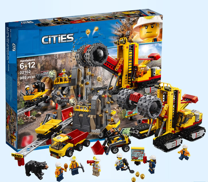 Sets for Kids Vehicle Toys LEGO 60188 City Mining Construction Site Toy