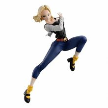 20cm Japanese anime figure Android No.18 fighting ver action figure collectible model toys for boys(China)