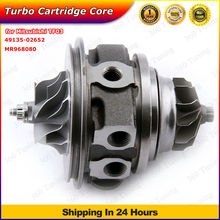 for Mitsubishi L200 Pajero 2.5 L 4D56 TF035 Shogun 49135-02652 Turbo Chra Cartridge MR968080 Journal Bearing Balanced TF035HL2