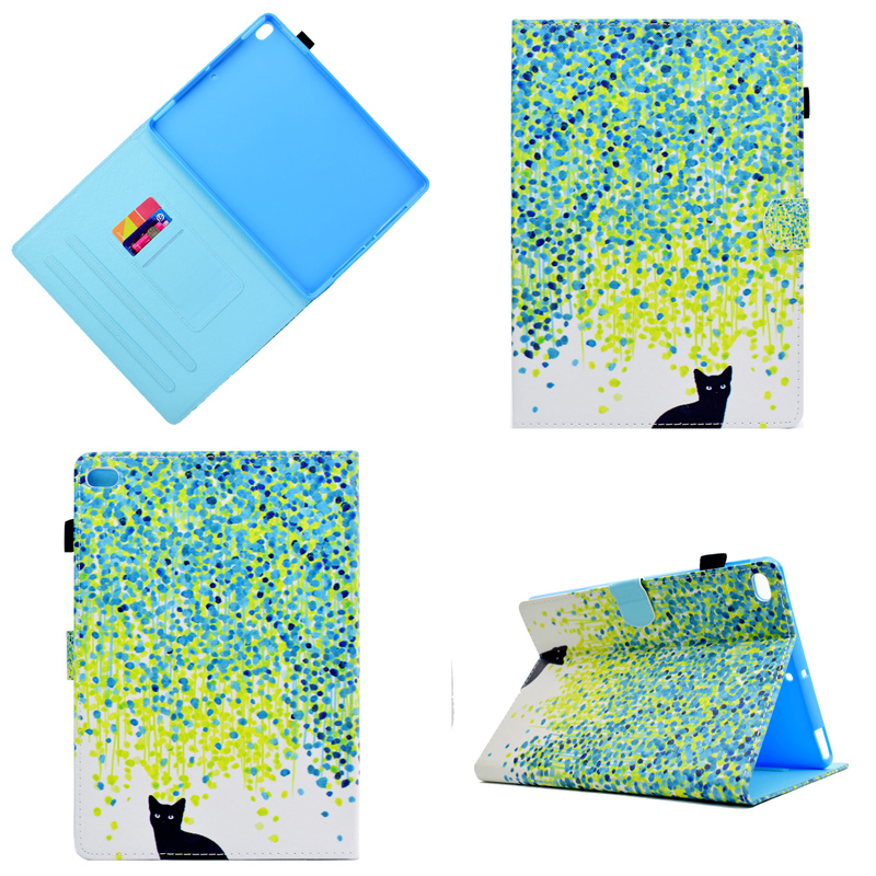 For Ipad Air 1 2 PU Leather Smart Cover For Apple Ipad 5 6 Tablet Flip Cover Auto Sleep/Wake With Pen Cover For Ipad 9.7'' 2017