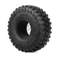 "INJORA 4PCS 123*45MM 1.9"" Rubber Tyre Wheel Tires for 1:10 RC Rock Crawler Axial SCX10 SCX10 II 90046 AXI03007 Traxxas TRX-4 3"