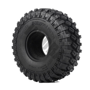 "Image 3 - INJORA 4PCS 123*45MM 1.9"" Rubber Tyre Wheel Tires for 1:10 RC Rock Crawler Axial SCX10 SCX10 II 90046 AXI03007 Traxxas TRX 4"