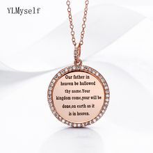 our father in heaven be hallowed thy name, your will be done, on earth as it is in heaven 925 sterling silver suspension pendant isarene doyle aborted babies in heaven