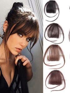 Hair-Clips Bang Good Hair-Styling-Accessories Fringe Synthetic-Hair False High-Quality