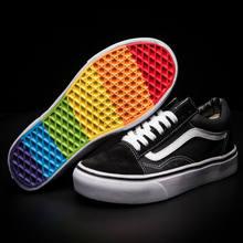 vans regenboog schoenen