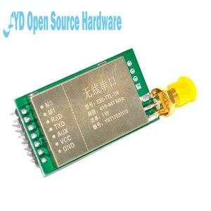 Image 2 - Параметры 7500 м 1 Вт SX1276 LoRa 433 мгц радиочастотный трансивер дальнего действия 7500 м радиочастотный модуль 433 м LORA с антенной