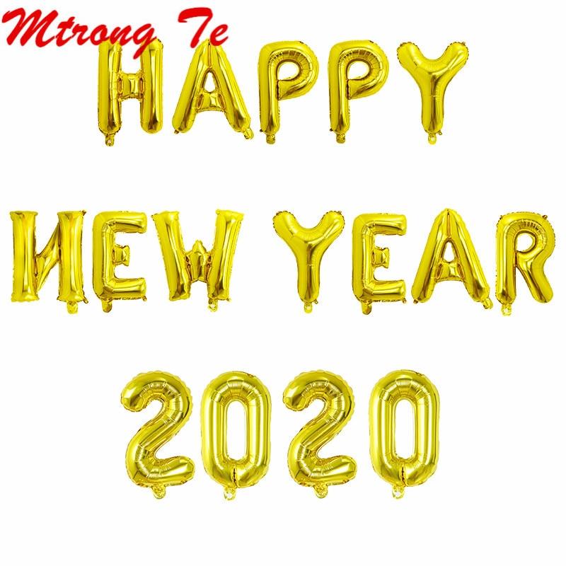 Happy New Year Balloons 100