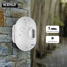 KERUI P861 في الهواء الطلق مقاوم للماء PIR محس حركة للكشف عن نظام إنذار أمان لاسلكي درب المرآب لص جهاز استشعار إنذار