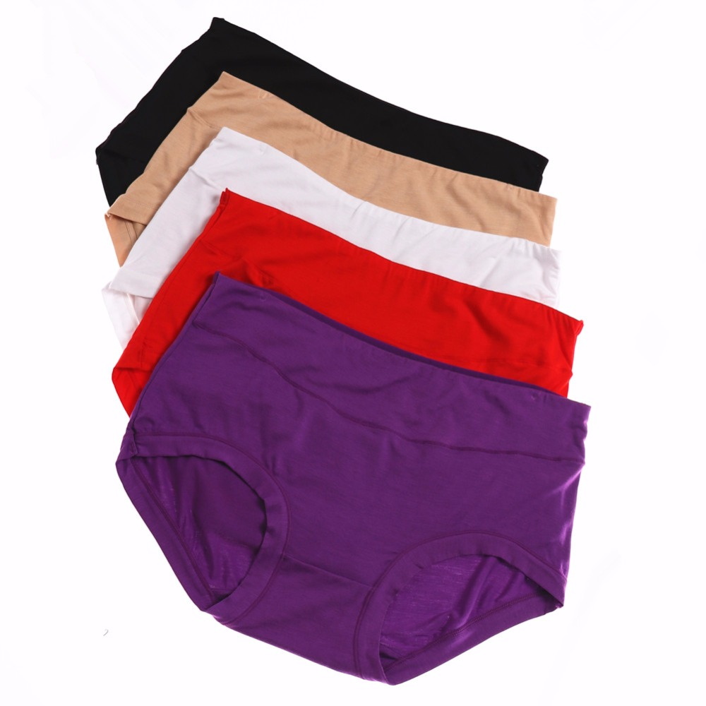 6386f431e Detail Feedback Questions about 5PCS Pack Top Quality Underwear Women Sexy  Bamboo Fiber Seamless Briefs Spandex Ladies Girls Panties Knickers M L XL  XXL ...