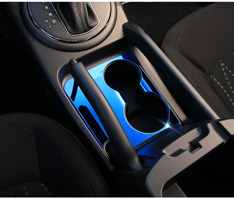High Quality Stainless Steel Car water cup decorative cover for KIA Sportage R 2010 2011 2012 2013 2014 2015 car stylin цена