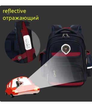 2019 New University Of Oxford Orthopedic school bags backpack waterproof for Kids boys girls class 1-3