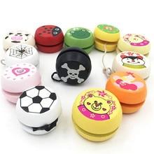 Деревянные йо-йо личности творческое здание личности Спортивное Хобби Классические игрушки йойо для детей Рождество