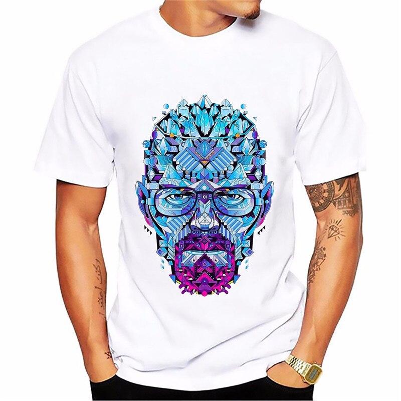 Breaking Bad heisenberg Walter White jessie pinkman t shirt men short sleeve casual tshirt Breathable comfort plus size