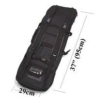 95cm Tactical Military Airsoft Gun Bag High Density Nylon Gun Case Paintball Hunting CS Hunting Rifle Bag