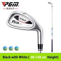 High Quality Brand Junior Golf Boy Iron Clubs Girl Exercise 7 Iron Right hand Inferior Steel Driver Multicolor Ultralight Club