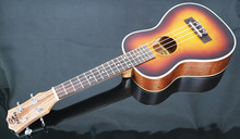 26 Soprano Ukulele spruce sunset color 4 Strings uke guita acoustic ukelele small guitar solid body professional uke Concert metal guitar capo with bridge pin remover fit for acoustic electric guitar bass ukulele mandolin soprano concert tenor baritone
