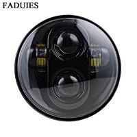 Nuevo Faduys 5,75 LED faro de motocicleta 5-3/4 Negro LED faro para bicicleta faro de motocicleta