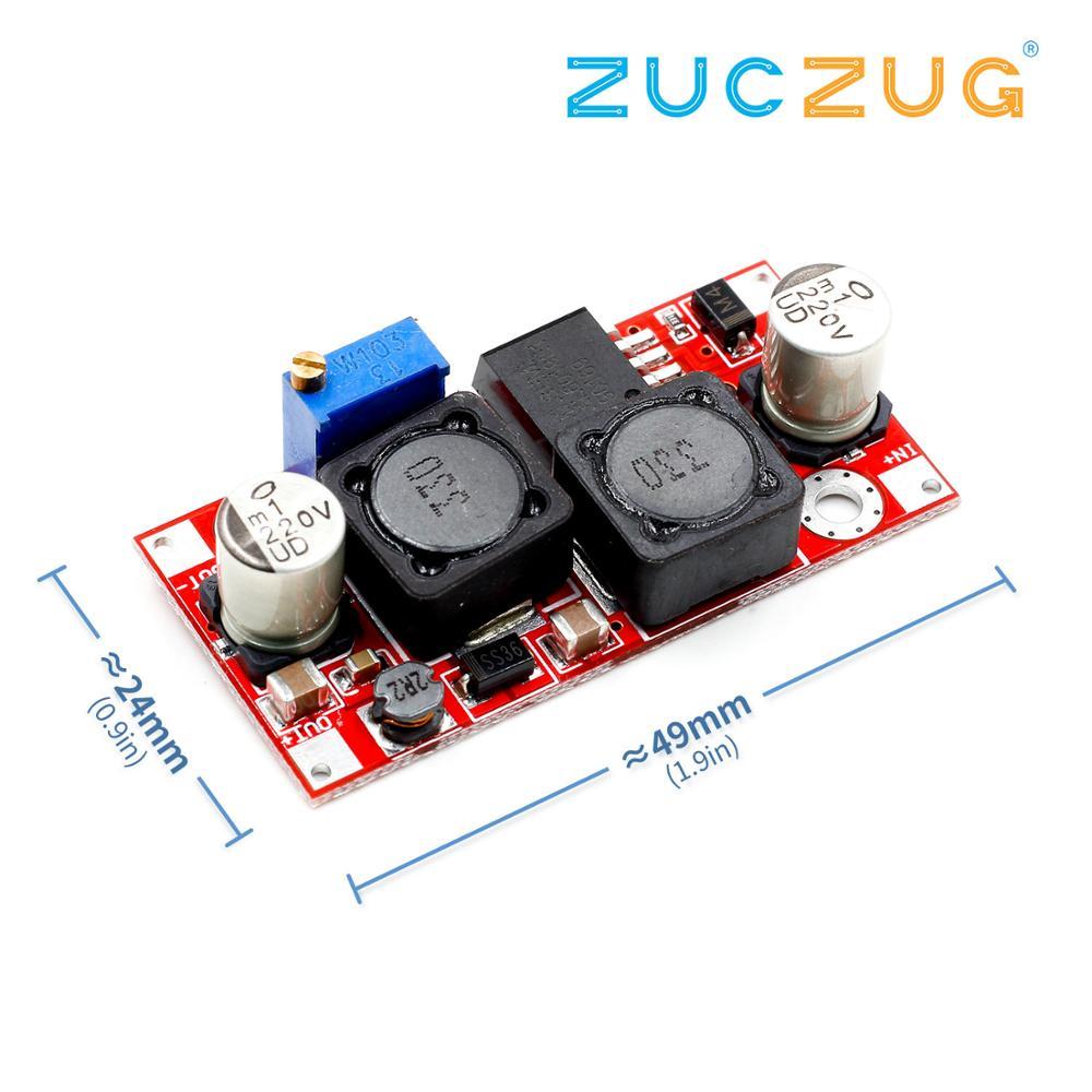 1 pièces Boost Buck DC-DC convertisseur abaisseur réglable XL6019 (mise à niveau XL6009) Module d'alimentation 20W 5-32V à 1.2-35V