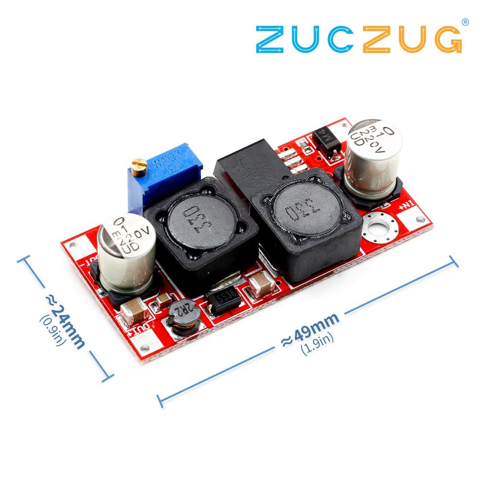 1pcs Boost Buck DC-DC Adjustable Step Up Down Converter XL6019 (XL6009 Upgrade) Power Supply Module 20W 5-32V To 1.2-35V