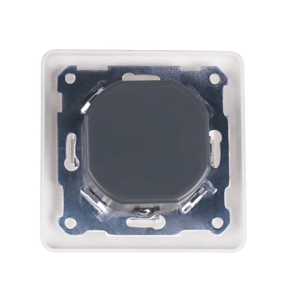 220V 230V 240V AC светодиодный симисторный диммер 300W затемнения настенное крепление поворотная панель ручной регулировкой Яркость контроллер для светодиодный свет