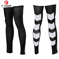 X Tiger Sports Cycling Leg Warmers Men High Elastic Bicycle Legwarmers Sleeve For Road Bike Protective