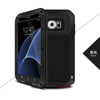 LOVE MEI Brand Metal Case For Samsung Galaxy S7 Edge/S7 Cover Aluminum Armor Shockproof Case For Samsung Galaxy S7 Capa Fundas