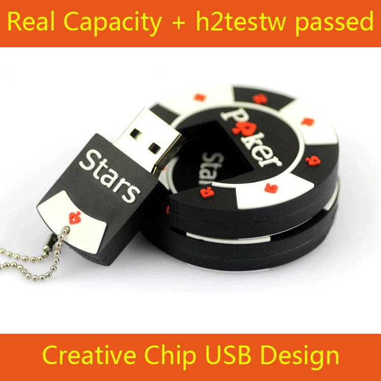 8GB 16GB 32GB 64GB Real Capacity POKER STARS CASINO CHIPS Car Key USB 3.0 Flash Drive Pendrive Memory Stick 128GB 512GB 1TB 2TB