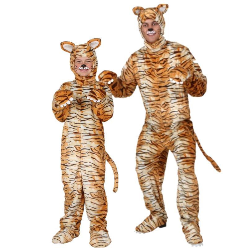 Hot cosplay Halloween costume adult children party costume animal cartoon tiger costume high quality -in Holidays Costumes from Novelty u0026 Special Use on ...  sc 1 st  AliExpress.com & Hot cosplay Halloween costume adult children party costume animal ...