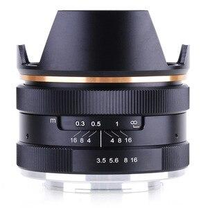 Image 2 - 14mm f/3.5 APS C ידני פוקוס ראש קבוע מצלמה עדשה עבור Sony E הר NEX3 3N 5 5T 5R מצלמה KAXINDA