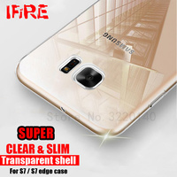 Ultra Thin Silicone Cover For Samsung Galaxy S8 Plus S7 S6 edge note 8 Case Clear Soft TPU Protecti Bag For galaxy s8 A5 A7 2017