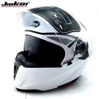 JIEKAI 105 Motorcycle Helmet Flip Up Electric Motorbike Protective Headgear Racing Double Lens Full Face Motorcycle