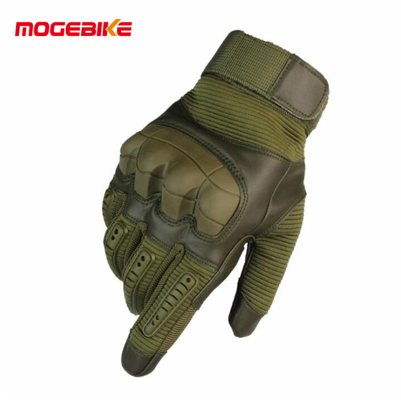 Motorcycle Gloves Motorcycle Protective Gears Motocross Glove Touch Screen Men's Military Rubber Hard Knuckle Full Finger Gloves