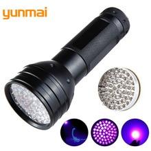 51 LED UV Flashlight Torch Light Ultraviolet Lamp 395-400nm Blacklight Use 3AA Battery For Checking B31