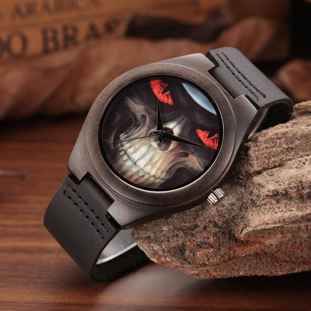 WEISIKAI Fashion Wooden Design Mens Womens Watches Casual Simple Leather Quartz Watch Scale Black Dial Wood Luxury Wristwatches (6)