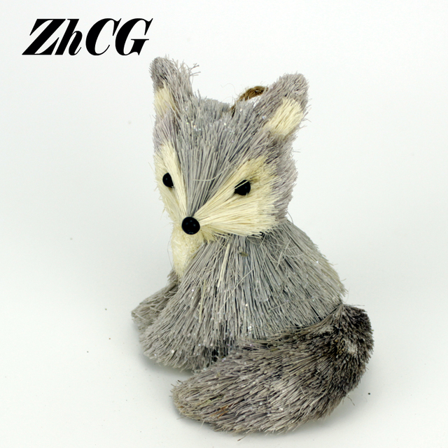 Handicrafts Decoration Fox Ornaments Arts And Crafts Decorations For