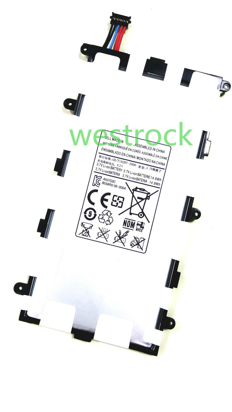 WESTROCK 4200mAh Bateria para o Samsung GALAXY Tab 2 SP4960C3B 7.0 GT-P3113 P3100 P3110 P6200 P3113 PC