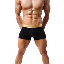 Amazing Soft Solid Brand New Men Underwear Boxers Bulge Pouch Underpant S M L