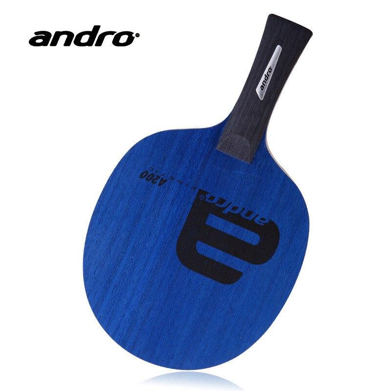 Andro A200 5 Plis Pur Bois Allround Raquette Tennis De Table Lame de Ping-Pong Bat Tenis De Mesa